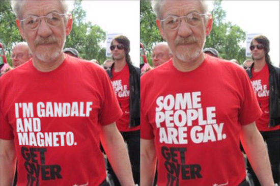 I'm Gandalf and Magneto - Get Over It