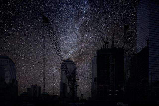 thierry-cohen-city-after-dark-new-york-ground-zero