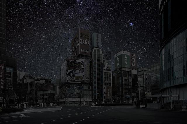 thierry-cohen-city-after-dark-tokyo-electronics-district