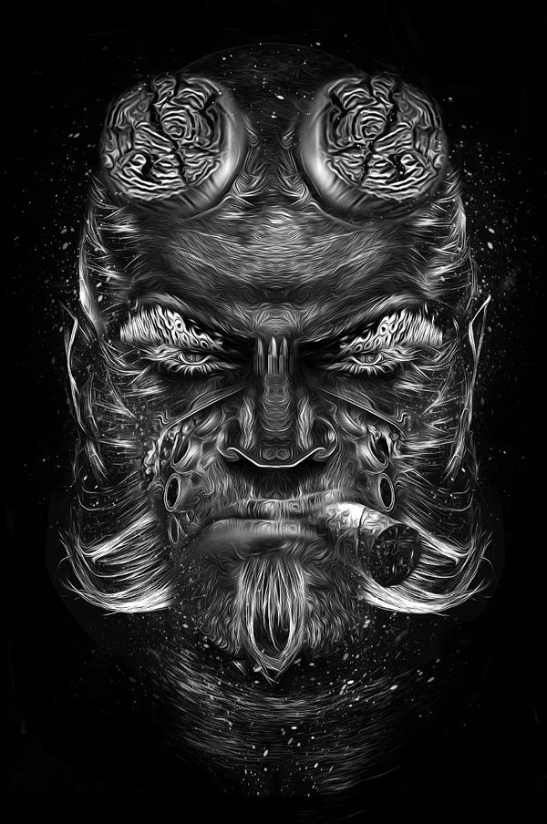 Nicolas-Obery-Fantasmagorik-Hellboy