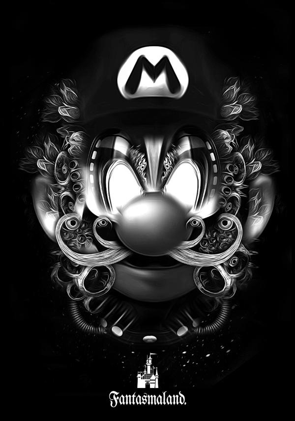 Nicolas-Obery-Fantasmagorik-Mario