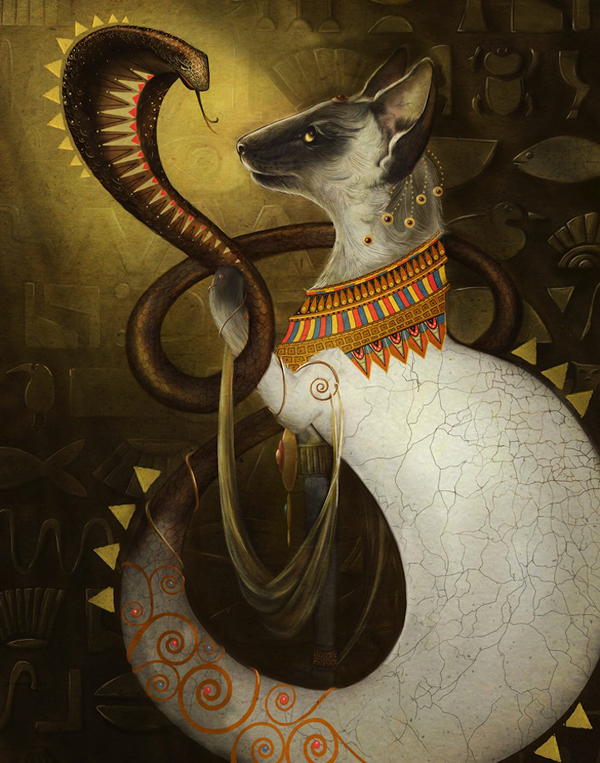 Christina-Hess-Cleopatra-Cat