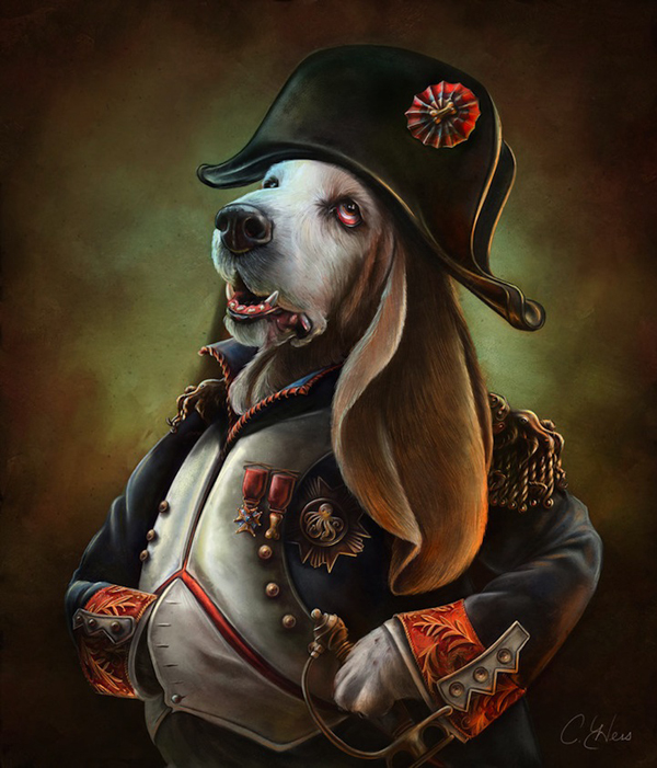 Christina-Hess-Napoleon-Dog