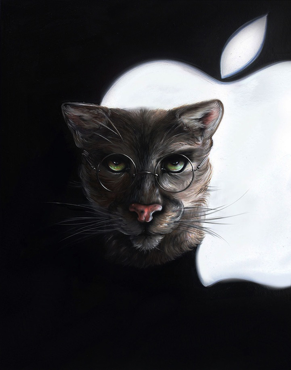 Christina-Hess-Steve-Jobs-Cat