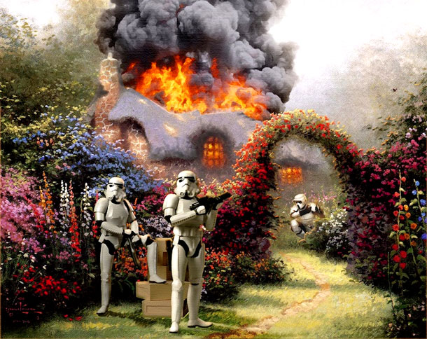 Famous-Star-Wars-Characters-Painted-Into-Popular-Artworks-1