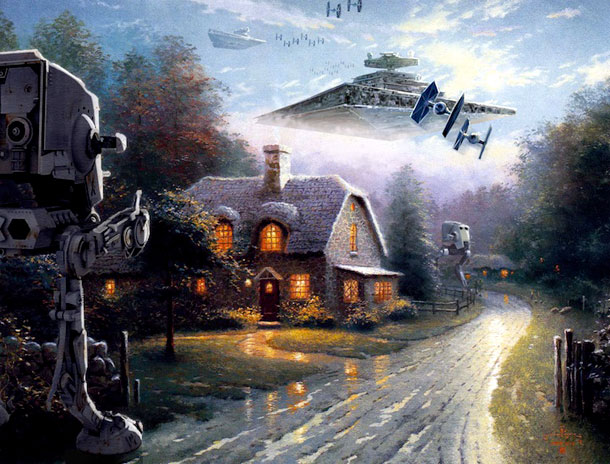Famous-Star-Wars-Characters-Painted-Into-Popular-Artworks-5