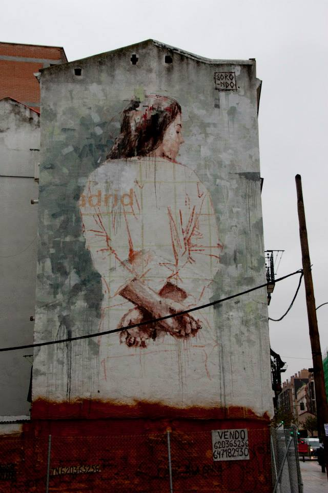 Street-Art-by-Borondo-in-Tetuan-Madrid-Italy-2