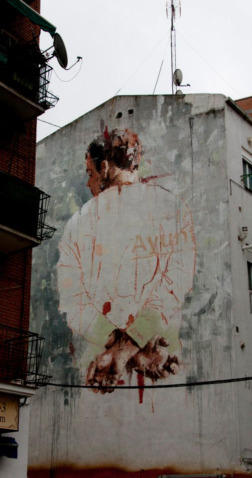 Street-Art-by-Borondo-in-Tetuan-Madrid-Italy-3