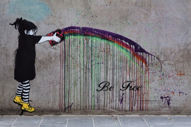 Street-Art-by-Be-Free-in-Melbourne-Austalia-8