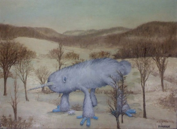 adding-monsters-to-thrift-store-landscape-paintings-chris-mcmahon-5-565x412