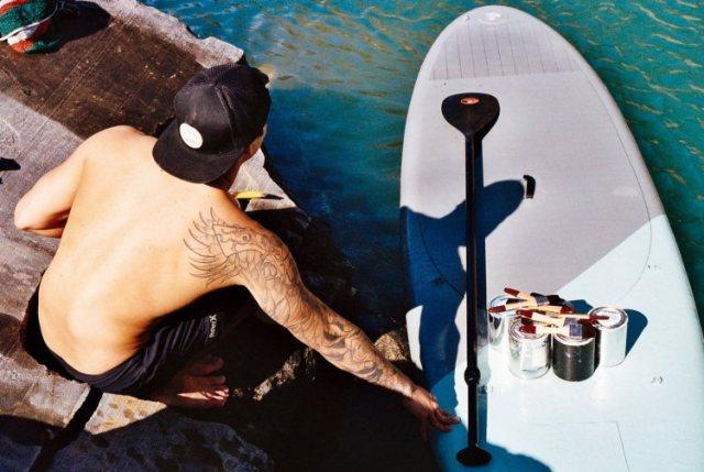 Hula-Surfboard